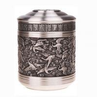 纯锡茶叶罐摆件创意高档商务礼品实用送领导长辈办公桌摆设装饰品