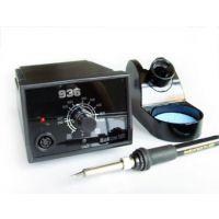 厂家订做936 110V智能无铅焊台调温电烙铁 插拔式陶瓷芯调温焊台