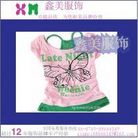 厂家 供应 定做童装热转印商标、T恤烫画商标、 内衣热转印烫唛标
