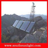 电网智能山区野外监控系统 太阳能光伏离网独立发电监控系统