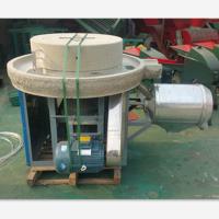 恒丰石磨机订做 五谷杂粮电动石磨规格 面类加工设备不同产量
