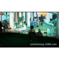 淘气堡项目,3D投影互动游戏,地面墙面投影游戏!