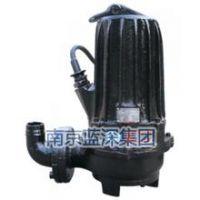 南京蓝深水泵WQ400-6-11千瓦200安装耦合口径