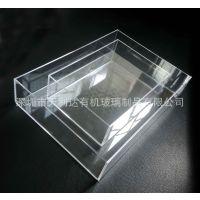 直销亚克力收纳盒方形5面桌面收纳盒有机玻璃杂物储蓄盒透明盒子