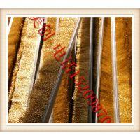 厂家供应 铜丝条刷 铜丝毛刷 毛刷条 毛刷 直销