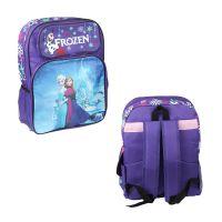 学生礼物卡通双肩书包 紫 冰雪奇缘 外贸背包货源速卖通敦煌爆款