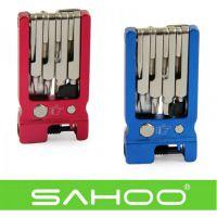 【B10016】SAHOO鲨虎 骑行装备 台湾原产19合1自行车折叠工具