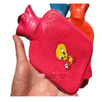 正品永字牌小号平纹儿童热水袋 充水橡胶热水袋暖手宝安全耐用500