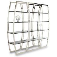 供应合肥不锈钢展示柜_商场不锈钢陈列架_304不锈钢展示柜价格