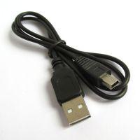 S0040迷你5P数据线 数据线 充电传输数据 OD3.5黑色音箱MP3数据线