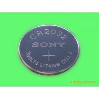 原装进口Sony索尼CR2032一次性纽扣电池