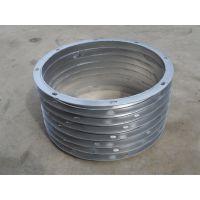 佛山厂家定制加工管道装置配套使用的角铁法兰、扁铁法兰、圆形法兰