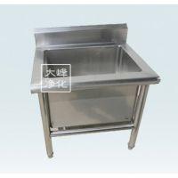 拖把池 不锈钢洗水池 洗物池尺寸600*5400*600 医用 厂家