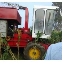 青储机市场价吉林中旺玉米青储机 大型秸秆收割机 打包回收机