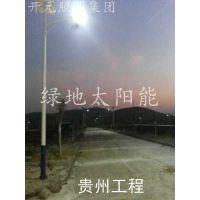 黑龙江牡丹江太阳能路灯生产厂家|7m30w