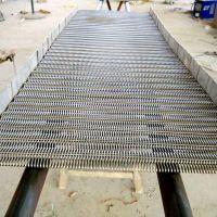 乾德机械供应各种链节距304不锈钢输送网带 链条式食品输送网带