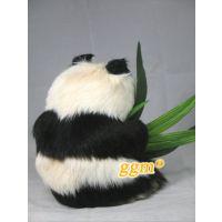 批发仿真熊猫 国宝 公仔 仿真动物 乖乖猫品牌 高22cm混批一只起