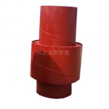 优质带限位装置波纹补偿器 矩形非金属织物烟道补偿器 圆形波纹膨胀节
