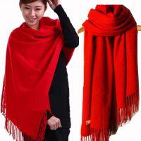 秋冬新款仿 羊绒围巾 加厚 男 女 正品 单位活动礼品 大红