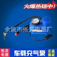 250PSI/300PSI车载充气泵 打气机 车用充气泵 塑料小充气泵带气嘴