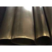 朝满阳不锈钢凹槽管 25.4*14*14槽 304凹槽不锈钢管 异形凹槽管本厂自产自