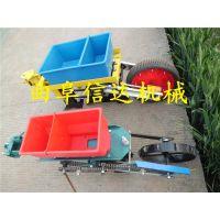 轮式玉米精播机 手扶带动单双行精播机 信达制造