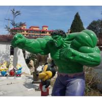 天和雕塑 动漫卡通树脂模型玻璃钢绿巨人雕塑