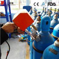 重庆紫旭机械厂厂家批发钢瓶专用打码机 氧气瓶打标机 气瓶检测站专用便携打标机