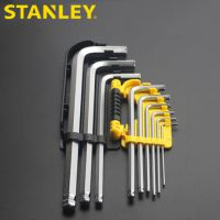 STANLEY/史丹利9件套公制长球头内六角扳手STMT94162圆头扳手套装94-162-23