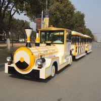 公园景点观光小火车,一拖二小火车,复古小火车