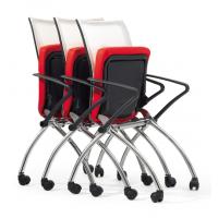 格友家具供应网布会议椅,可折叠会议椅,东莞办公椅厂家
