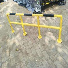挡车器制作流程@北京市优盾牌防撞栏75圆管2毫米厚质量杠杠滴多种用途