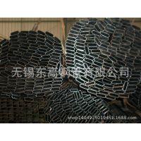 无锡现货供应Q195热镀锌焊接椭圆管  护栏管用镀锌椭圆管