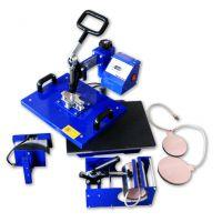 热销HP5IN1 15*20cm 五合一多功能烫画机 烤盘机 多功能热转印机