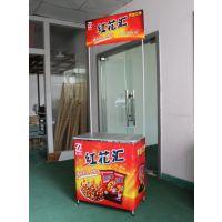 【厂家直销】上海促销台 全铝拉网促销台 宣传展示广告桌