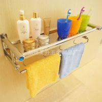 厂家直销 百特美优质不锈钢浴巾架 带板毛巾架 浴室毛巾架