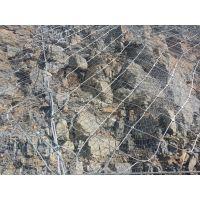 自然灾害落石防护钢丝绳网@sns主动柔性防护网网@边坡防护网生产厂家