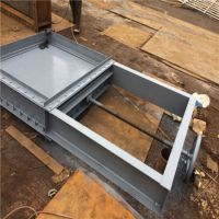 锅炉冷风系统插板式风门 电动矩形插板门 齐鑫 严密性优
