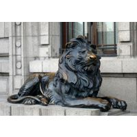广西汇丰狮子、妙缘雕塑、汇丰狮子雕塑