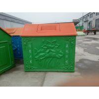 厂家直销河北华强玻璃钢垃圾箱