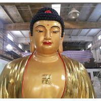 佛像观音佛祖寺庙玻璃钢人像雕塑厂家定制树脂工艺品摆件