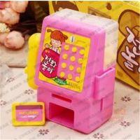 乐天儿童益智电话糖22g*8盒*4组/箱 玩具糖韩国进口零食糖果