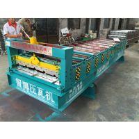 智博厂家供应全自动840型彩钢压瓦机