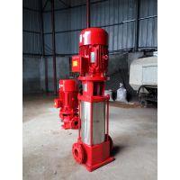 泉柴55kw消防泵价格立式消火栓泵XBD1.8/200-300L-390