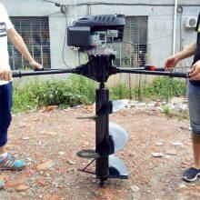 绿化种植专用拖拉机挖坑机 启航牌大马力植树挖坑机 打眼机价格