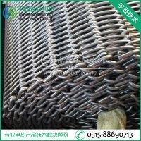 【宇恒电热】淬火炉Inconel 601钩形网带 电炉设备加强平衡网带
