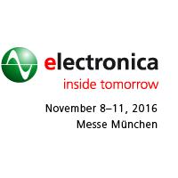 2016年11月德国慕尼黑电子元器件博览会|两年一届|欧洲|元器件展