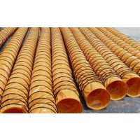 耐高温通风管厂家、孝感耐高温通风管、钢丝螺旋风管选兴盛