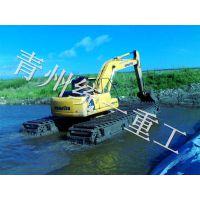 贵州城市河道内涝清淤设备技术原理 统一高效节能水上挖掘机价格