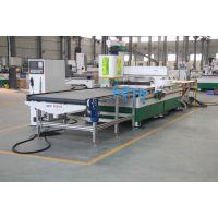 松原专业定制生产板式家具生产设备-格特木工加工中心+排钻开料机